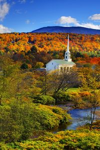 Fall in stowe
